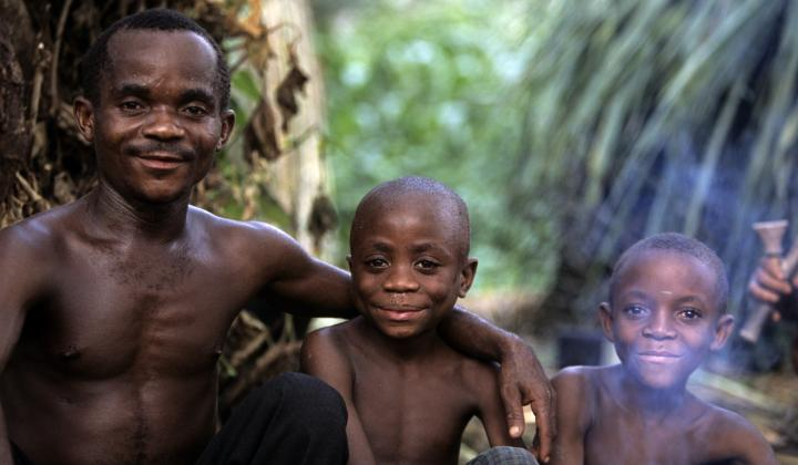 Father and Child (The Batwa of Uganda)
