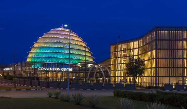 Kigali Convention centre and Radisson Blue