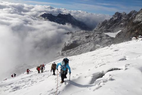 Margherita Summit (Rwenzori Uganda)