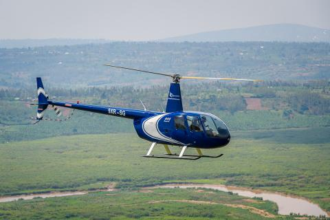 Discover Rwanda by Helicopter
