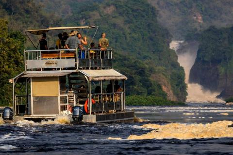 Boat Trip on the Nile upstream to the Falls