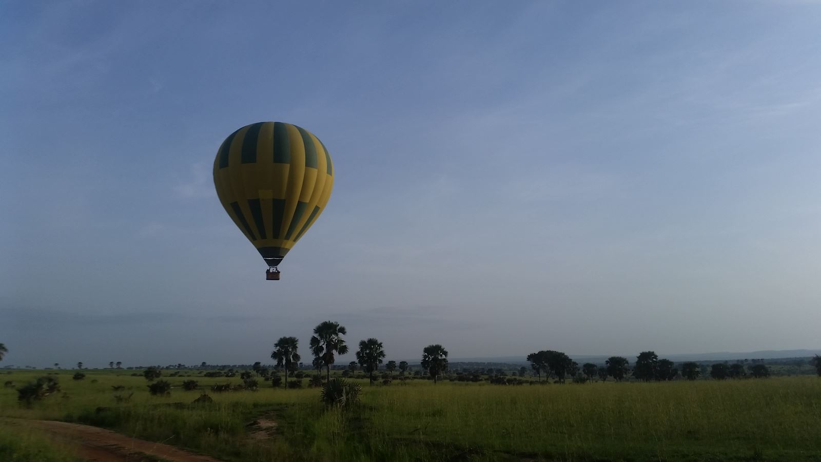 Hot Air Balloon (Murchison Falls Uganda)